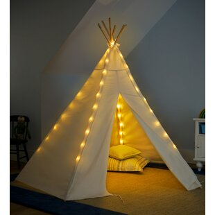 HearthSong 7' Teepee Battery Operated Lights Special Play Tent