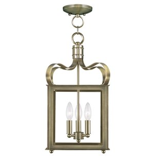 Conleth 3-Light Square Pendant..