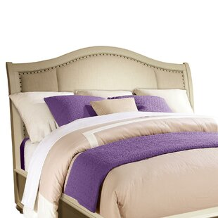 Coulonge Upholstered Sleigh Headboard by Lark Manor