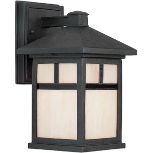 Buy Burtundy 1-Light Outdoor Wall Lantern!