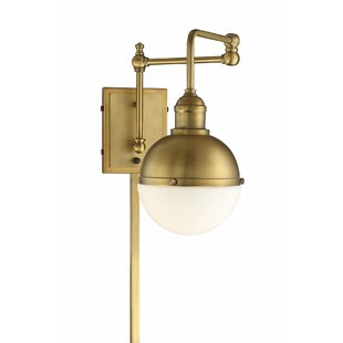 Gillenwater 1-Light Swing Arm Lamp by Orren Ellis