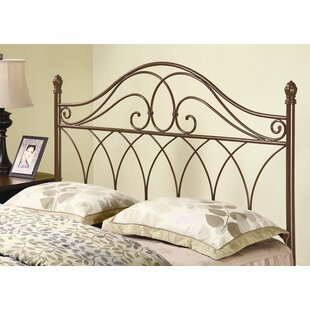 Almaville Metal Open-Frame Headboard by Alcott Hill