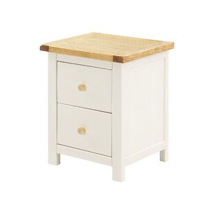 Faucett 2 Drawer Bedside Table By Brambly Cottage