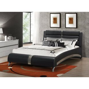 Henrie Queen Upholstered Sleigh Bed