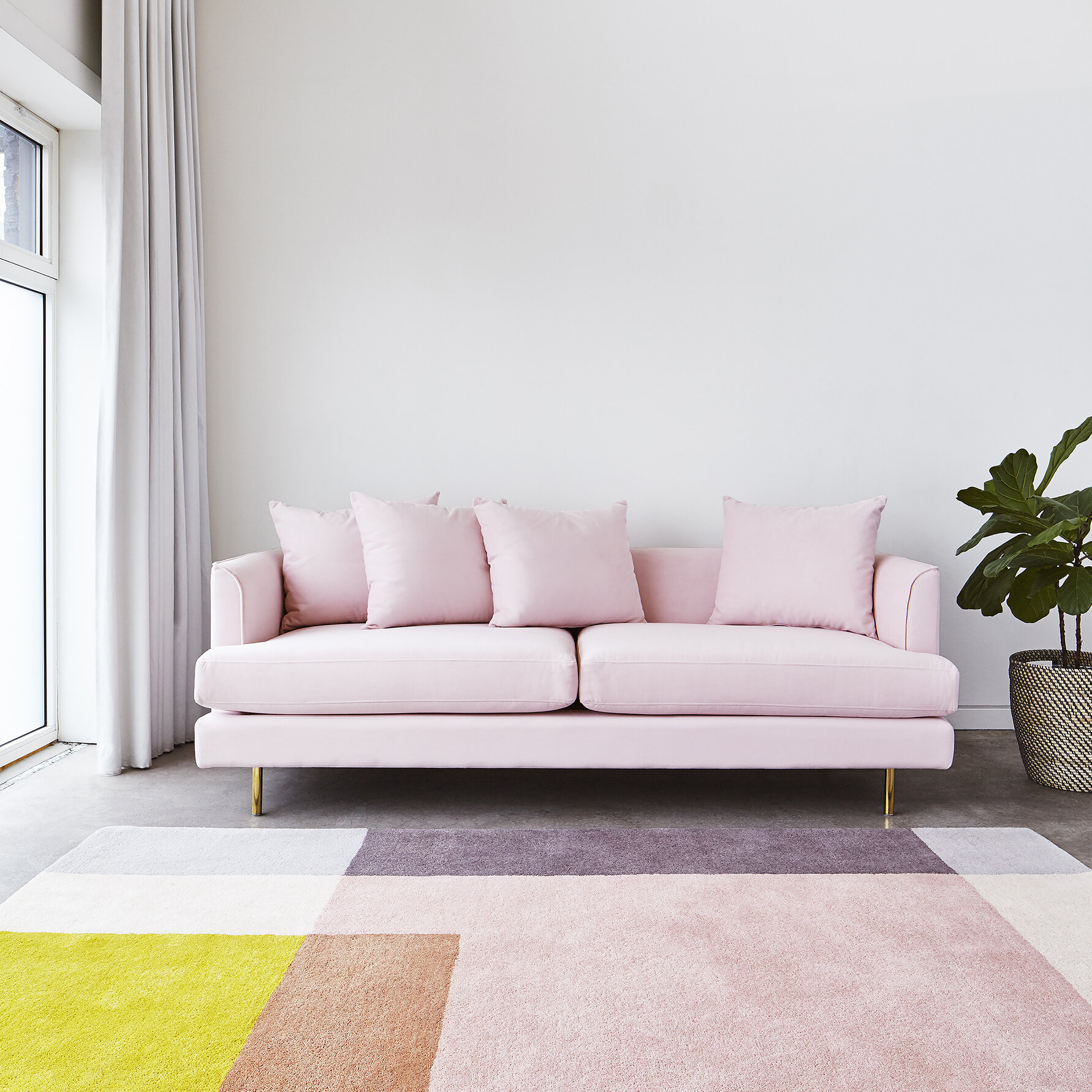 Gus modern margot sofa reviews wayfair ca
