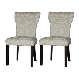 Chintaly Imports Melanie Upholstered Dining Chair (Set of 2)