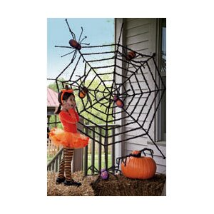 Giant Spider Web Halloween Decoration