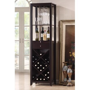Wholesale Interiors Baxton Studio 33 Bottle Floor Wine Rack