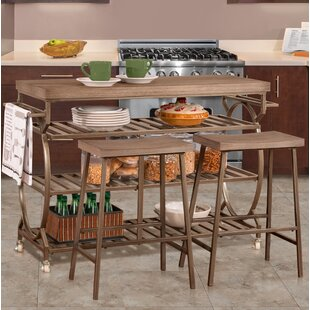 Trentelman 3 Piece Kitchen Island Set