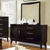 Jahiem Spacious 3 Drawers Combo Dresser by Brayden Studio®