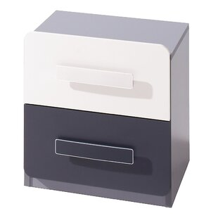 2 Drawer Bedside Table by dCor design
