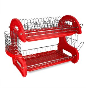 Sweet Home Collection 2-Tier Dish Rack