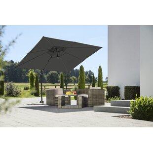 Rhodos Junior 2.7m Square Cantilever Parasol By Schneider Schirme