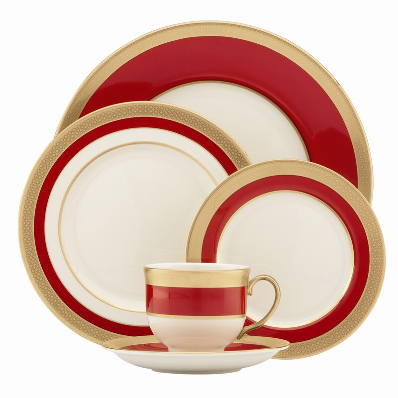 Embassy 5 Piece Place Setting, Service for 1