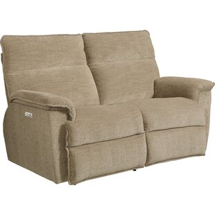 Jay La-Z-Time® Power-Recline with Power Headrest Full Reclining Loveseat