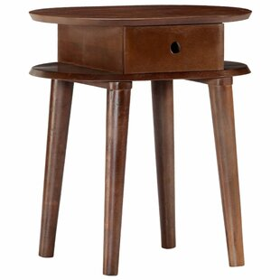 Leitch 1 Drawer Bedside Table By Bloomsbury Market