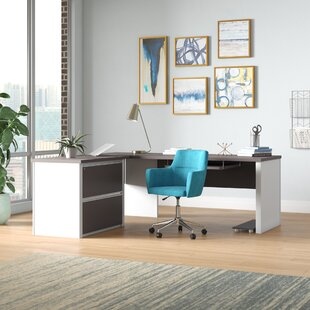 Aurea Pedestal Reversible L-Shape Executive Desk by Orren Ellis Coupon