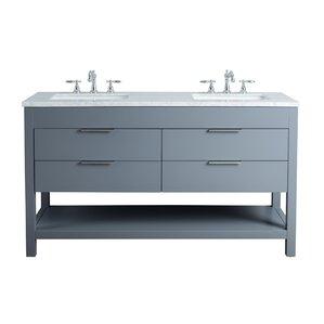 Palazzo 60-Inch Double Bathroom Vanity 60 inch bathroom vanities | joss & main