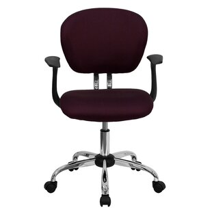 Peres Mid-Back Bright Mesh Padded Task Chair