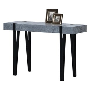 Burdine Concrete Console Table by Williston Forge