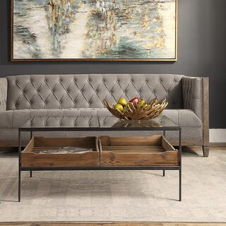Alexandra Coffee Table by 17 Stories SKU:BE970261 Buy