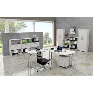 Folkestone L-Shape Desk By Symple Stuff