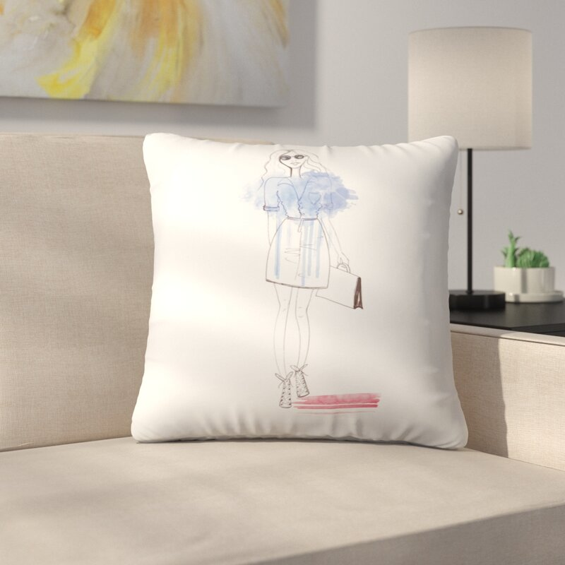 East Urban Home City Chic Throw Pillow