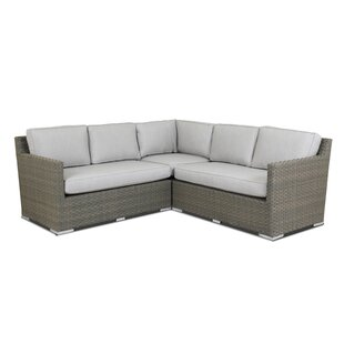 Majorca Patio Sectional with Sunbrella Cushions
