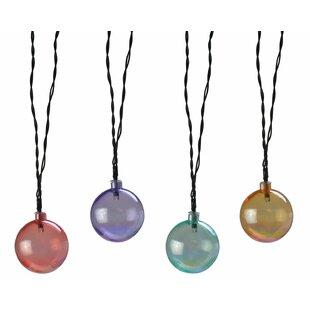 Moonrays 10 Light Globe String Lights