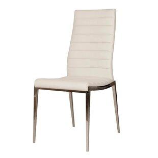 Arche Solid Back Side Chair (Set of 2) by Orren Ellis