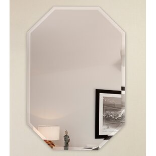 Octagon Frameless Wall Mirror by Fab Glass and Mirror
