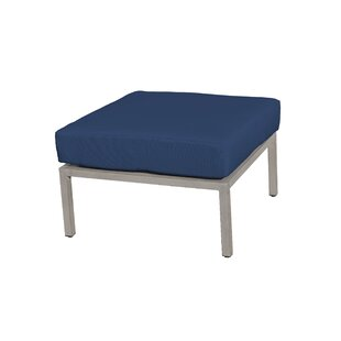 Carlisle Outdoor Ottoman with Cushion by TK Classics