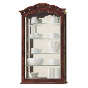 Vancouver II Wall-Mounted Curio Cabinet by Howard Miller®