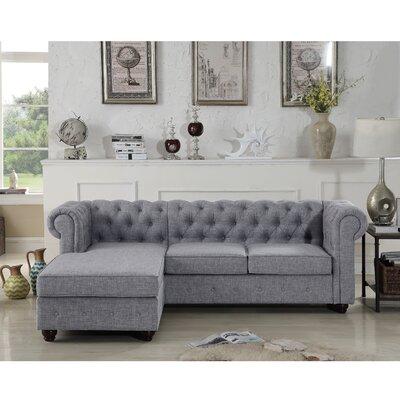 Grey Sofa Chaise Sofas You Ll Love In 2020 Wayfair