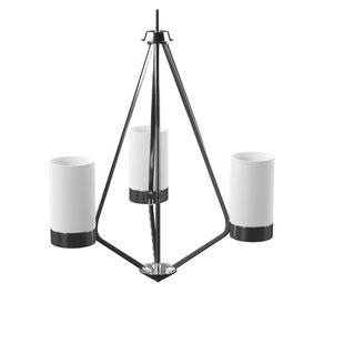 Riaria 3-Light Shaded Chandelier by Mercury Row