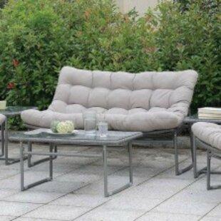 Ashmore Patio Sofa with Cushions