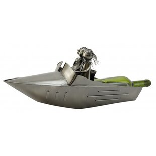 Speed Boat 1 Bottle Tabletop Wine Rack by..
