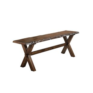 Adeline Wood Bench by Millwood Pines