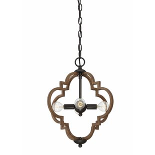 Graig 4-Light Geometric Chandelier (Set of 2) by Bungalow Rose