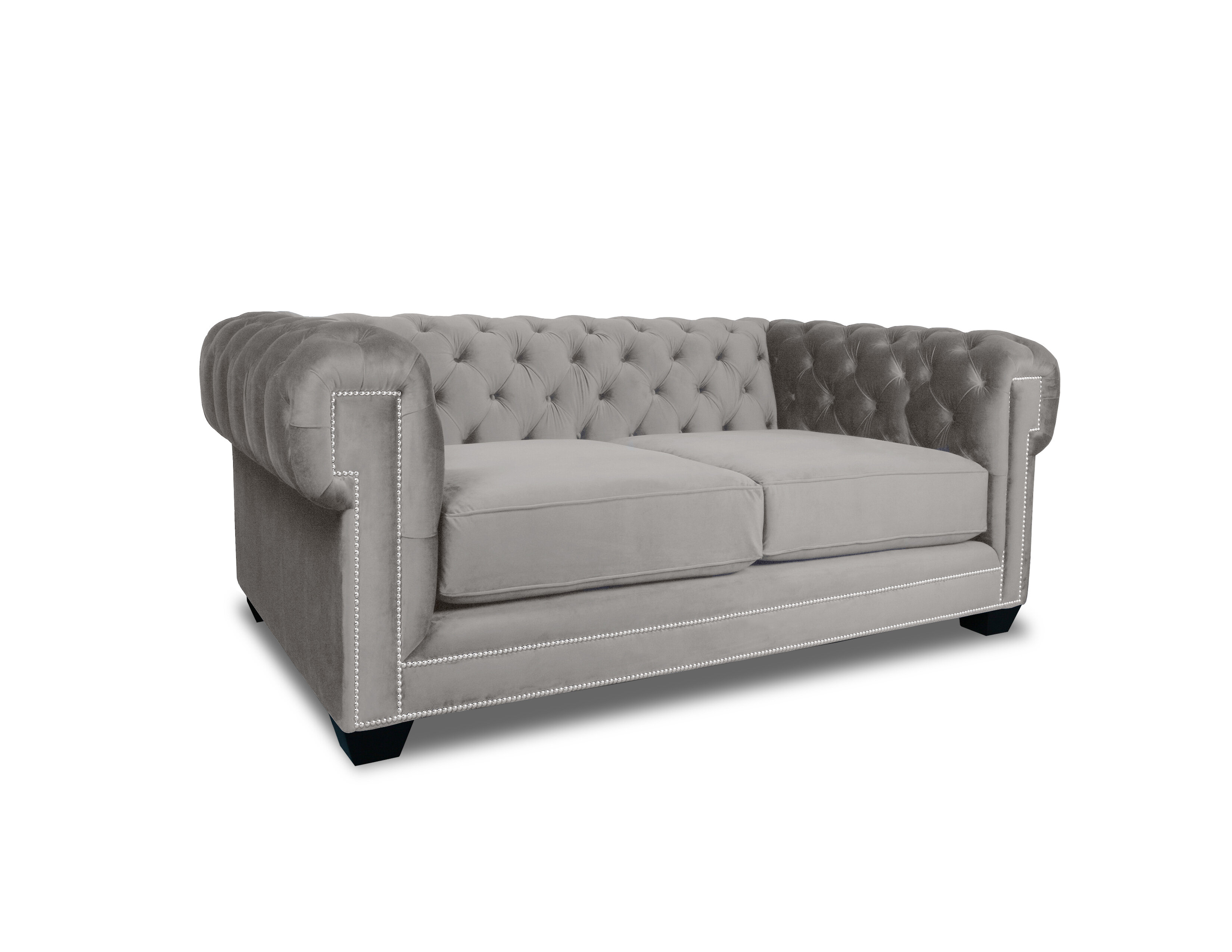 Charmant Everly Quinn Gauna Plush Deep Chesterfield Sofa | Wayfair