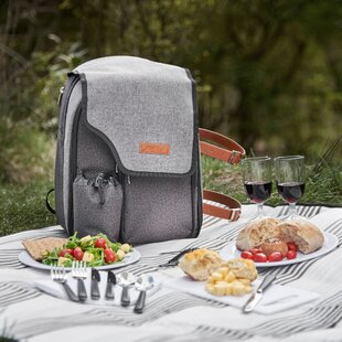 2 Person Premium Picnic Backpack with Blanket