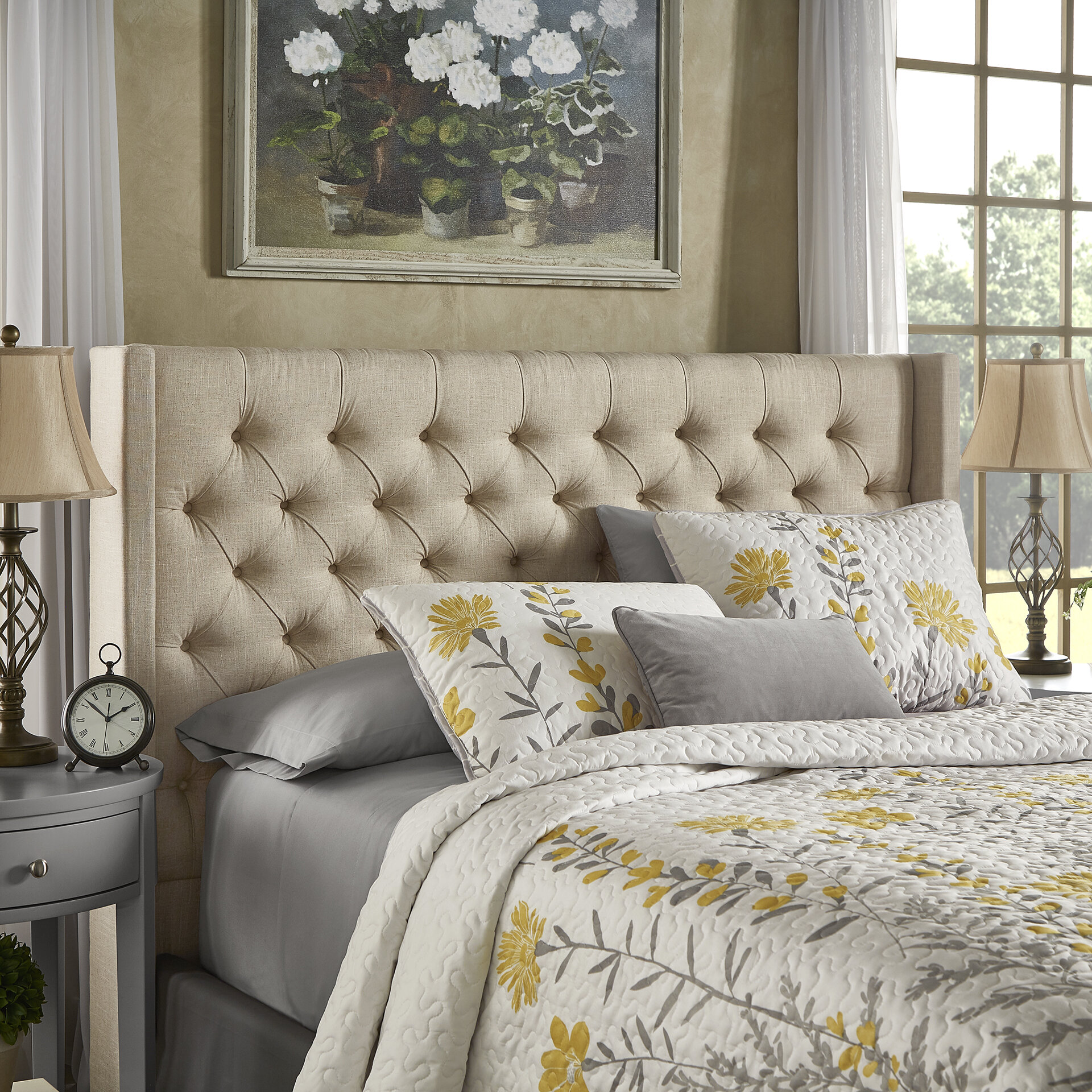 bowen acatalog julian winged king geneva headboard size l shop the sleep