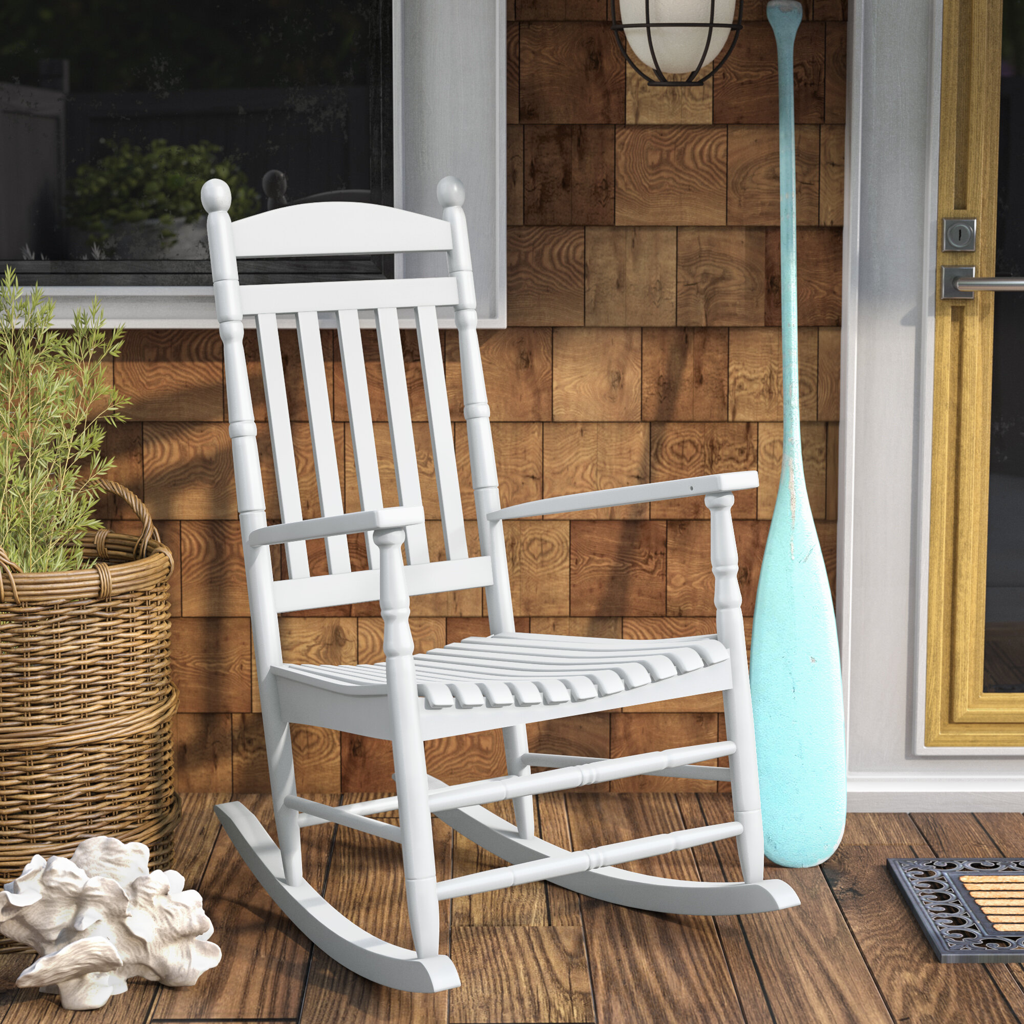 Outstanding Landaff Island Porch Rocker Chair Ibusinesslaw Wood Chair Design Ideas Ibusinesslaworg