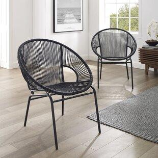 Travers Papasan Chair (Set of 2)