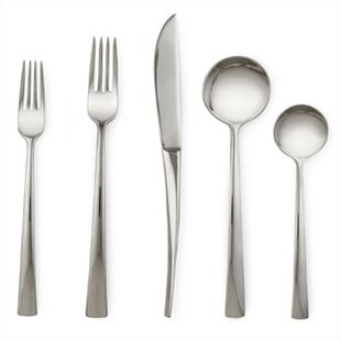 Rondure 5 Piece Flatware Set, Service for 1