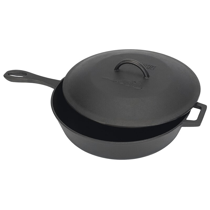 Bayou Classic Non Stick Skillet With Lid Reviews Wayfair