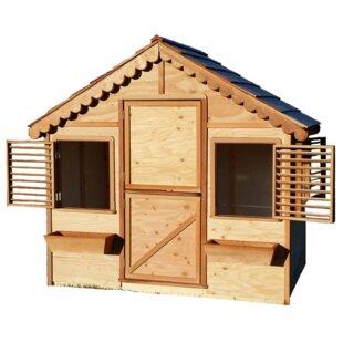 Little Alexandra Cottage 6.17' X 4' Playhouse By Canadian Playhouse Factory