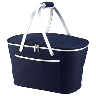 Beachcrest Home Collapsible Basket Cooler