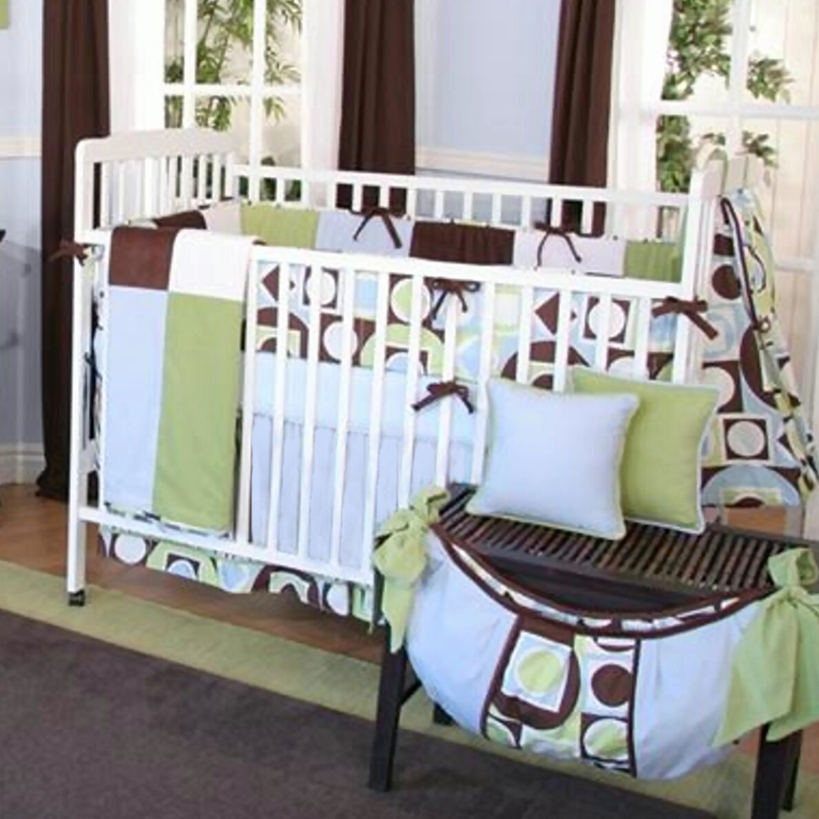 Brandee Danielle Modern Baby 4 Piece Crib Bedding Set Wayfair