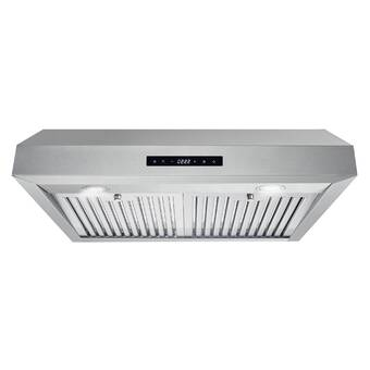 Kobe Range Hoods 30 Brillia 550 Cfm Ducted Insert Range Hood In Stainless Steel Reviews Wayfair